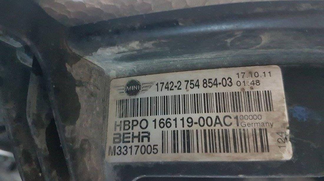 Electroventiliator 2754854 mini cooper cabrio r57 lci 1.6i n18 2009-2015