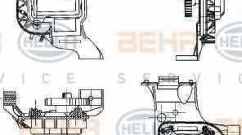 Element de reglare clapeta carburator SKODA ROOMSTER 5J HELLA 6NW 351 344-031