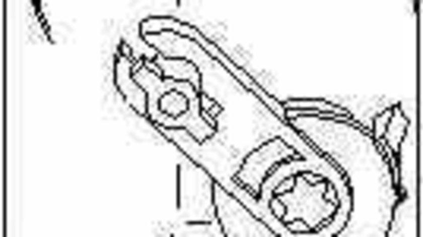 Element de reglare clapeta carburator VW BORA 1J2 TOPRAN 111 097
