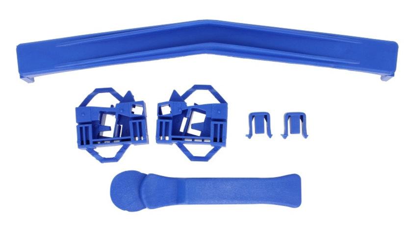 Elemente conexe macara geam fata stanga (set) SEAT CORDOBA, IBIZA; VW POLO 1995-2009