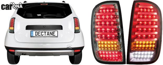 Elemente de iluminat Dectane pentru Dacia Duster - bucura-te acum de reducere 20%!