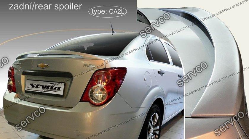Eleron adaos capota portbagaj tuning sport Chevrolet Aveo Sedan Limuzina Mk2 T300 2011-2017 v2