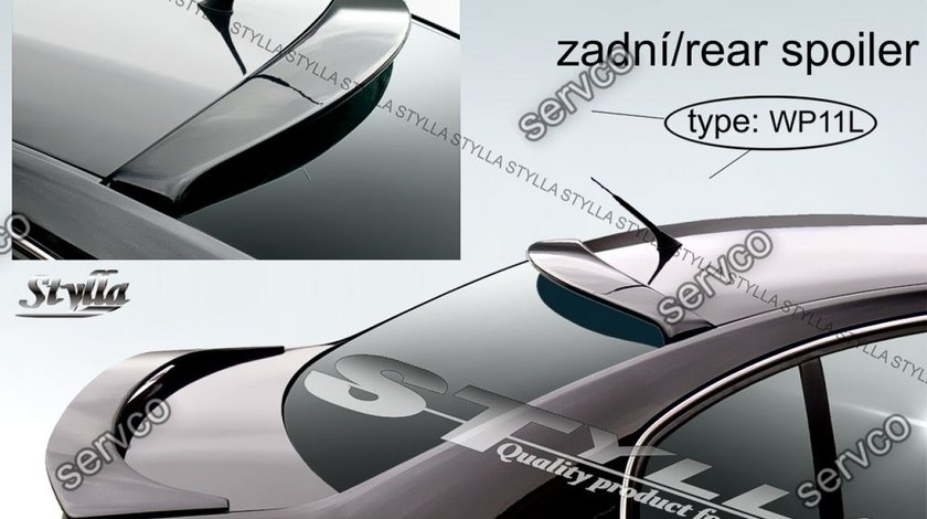 Eleron adaos haion luneta spoiler tuning sport Skoda Superb 1 Mk1 B5 3U 2001-2008 v3