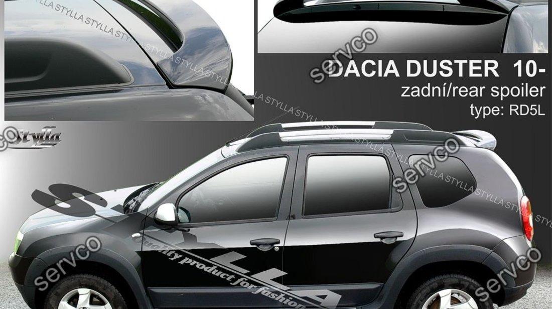 Eleron adaos ornament luneta spoiler tuning sport Dacia Duster Urban Explorer 2010-2018 v1