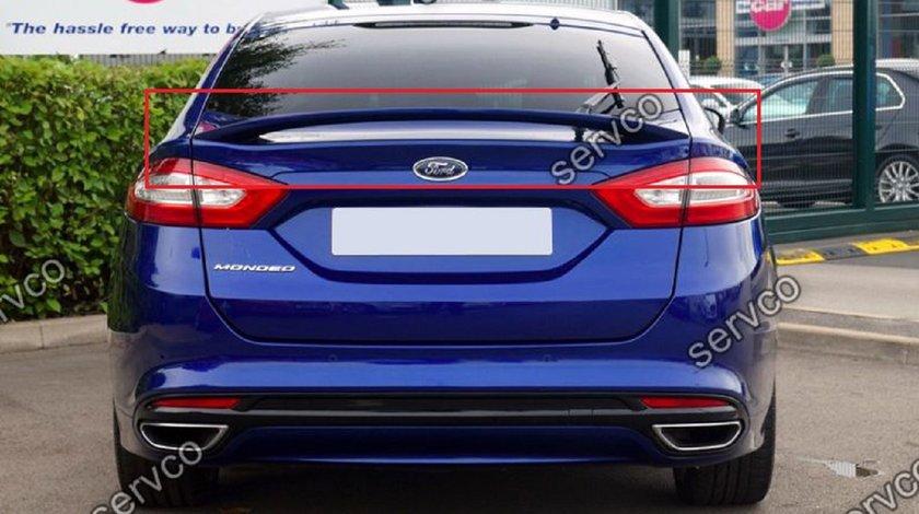 Eleron adaos portbagaj spoiler tuning sport Ford Mondeo 5 Mk5 ST Line Zetec Titanium 2014-2018 v1