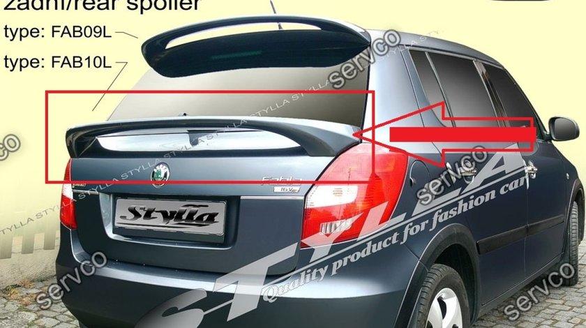 Eleron adaos portbagaj spoiler tuning sport Skoda Fabia Hatchback HB VRS Rs 2007-2015 v4