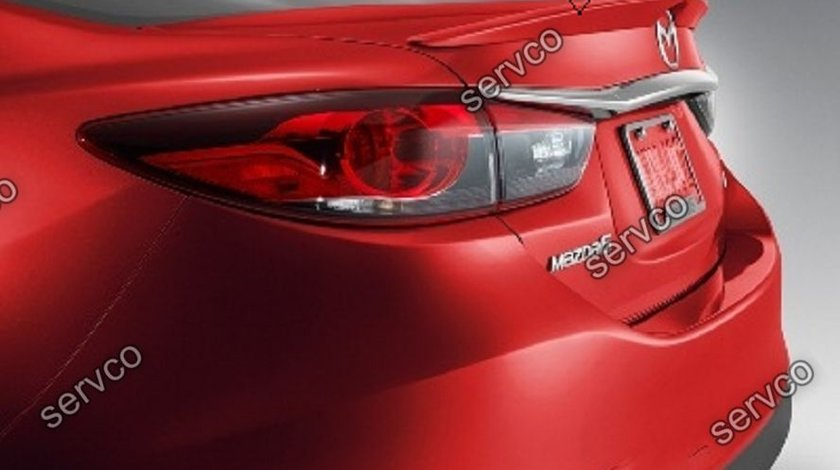 Eleron adaos portbagaj sport tuning Mazda 6 Mk3 Sedan Hatchback 2012-2017 v1