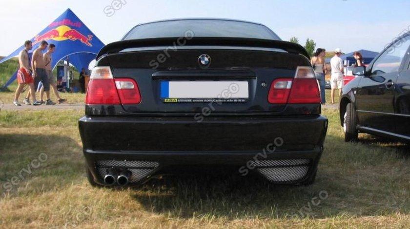 Eleron adaos portbagaj tuning sport BMW E46 Seria 3 M3 M pachet tech 1998-2005 v1