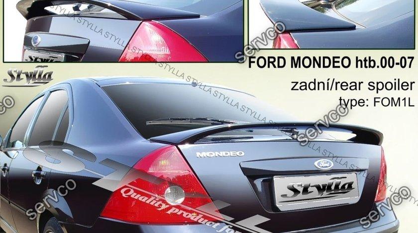 Eleron adaos portbagaj tuning sport Ford Mondeo Mk3 3 Sedan HB 2000-2007 v5