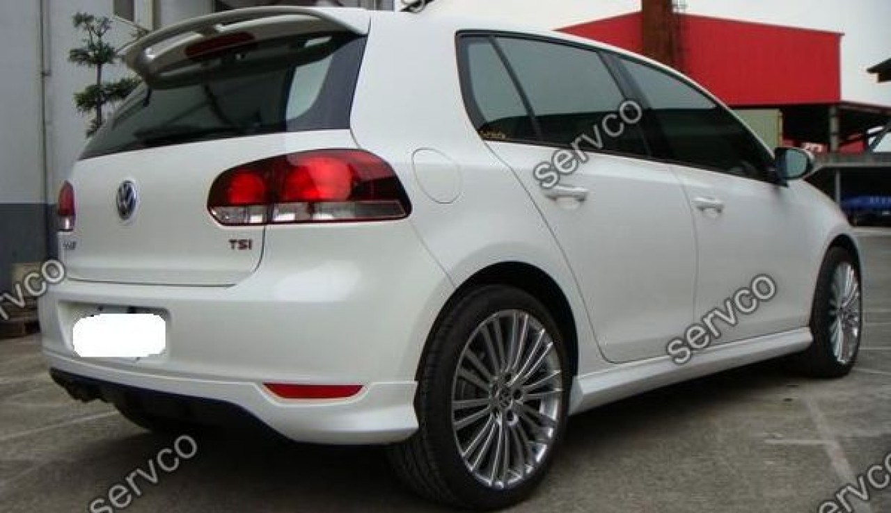 Eleron adaos spoiler Volkswagen Golf 6 Votex GTI Gtd 2008-2013 v1