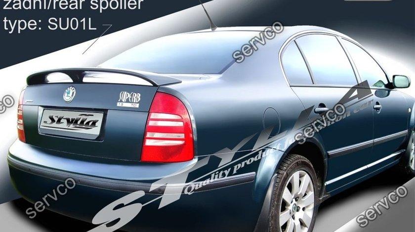 Eleron capota portbagaj spoiler tuning sport Skoda Superb Mk1 B5 3U 2001-2008 v1