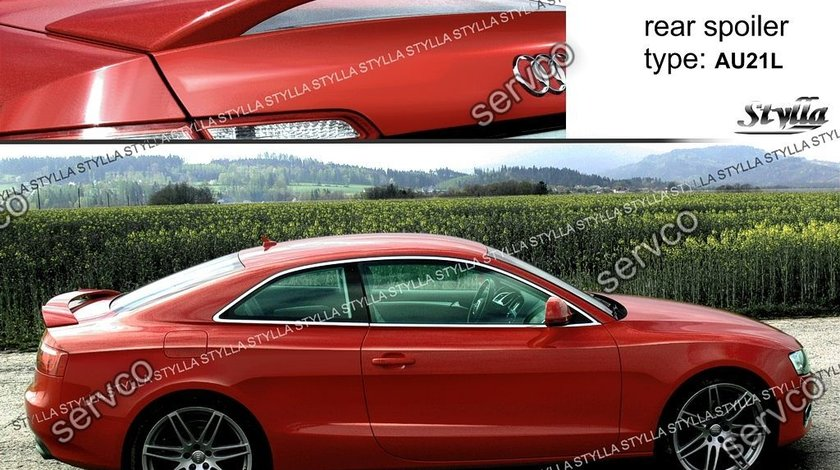 Eleron extensie portbagaj Sline Audi A5 Coupe 8T 8T3 S5 2007-2012 v4