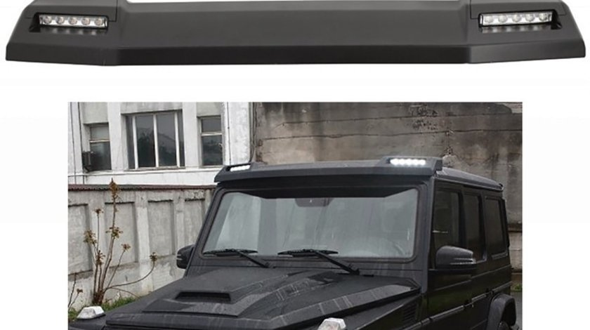 Eleron frontal Mercedes G-Class W463 cu lumini de zi LED (1989+) model BRABUS