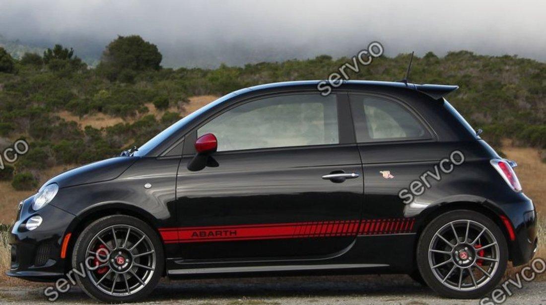 Eleron haion luneta spoiler tuning sport Fiat 500 Abarth 2007-2018 v1
