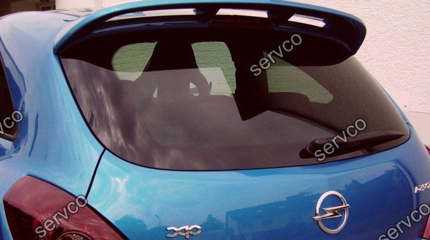 Eleron haion luneta spoiler tuning sport Opel Corsa D Coupe OPC line 2007-2011 v1