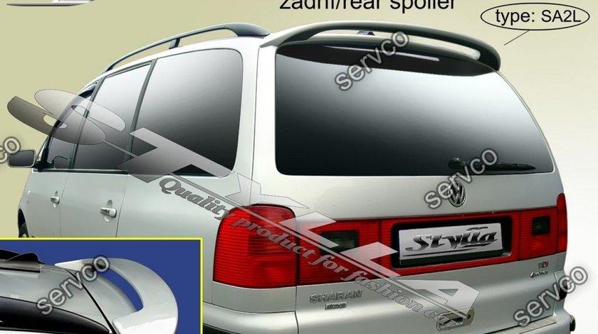 Eleron haion luneta spoiler tuning sport Volkswagen VW Sharan 7M 2000-2010 v2