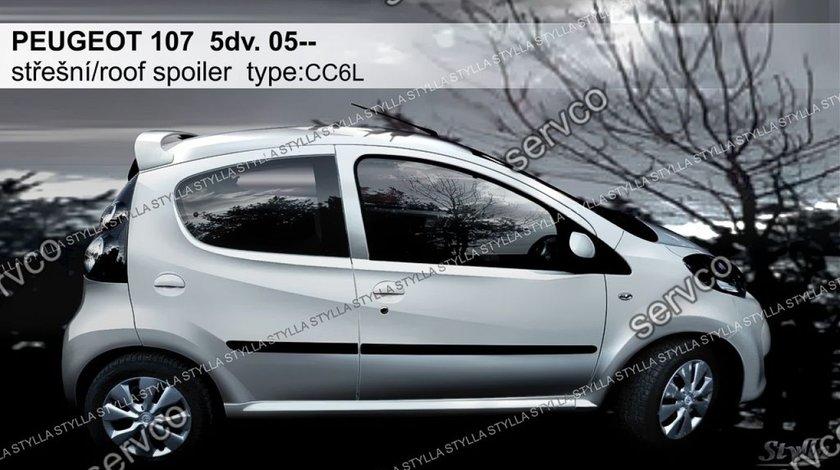 Eleron haion luneta tuning sport Peugeot 107 Gti Vti Hb Hatchback 2005-2014 v2
