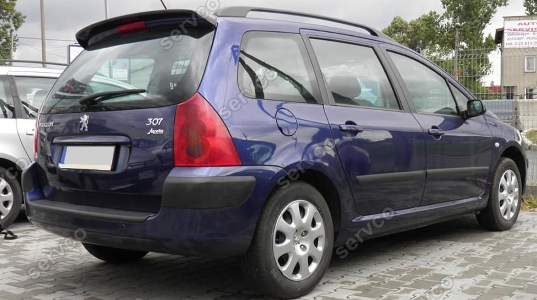 Eleron haion luneta tuning sport Peugeot 307 SW Vti Gti 2005-2008 v1