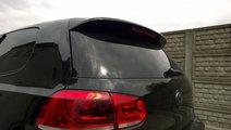 Eleron haion VW Golf 6 model GTI din fibra de stic...