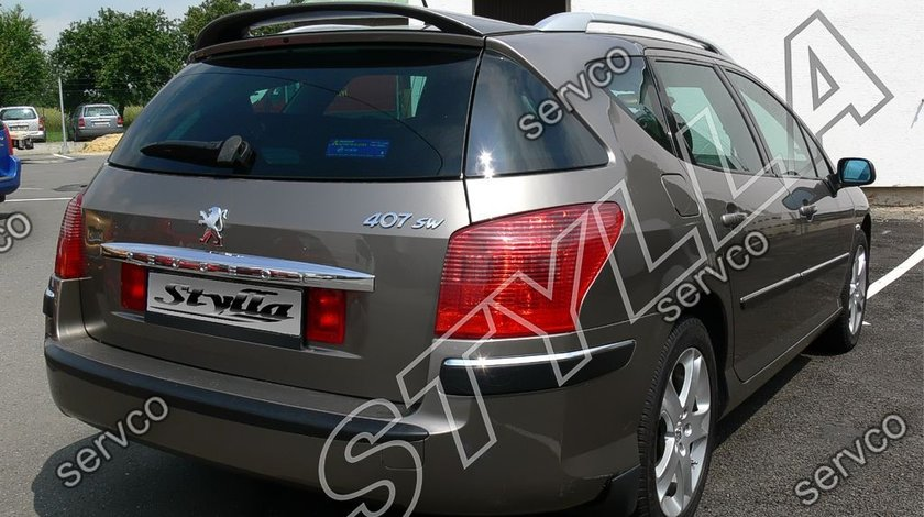 Eleron luneta haion tuning sport Peugeot 407 SW Street Wagon Touring 2004-2010 v2
