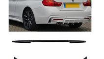 Eleron M4 Design BMW seria 3 F33 dupa 2011 negru l...