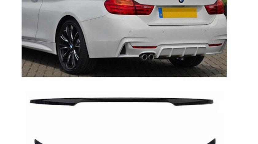 Eleron M4 Design BMW seria 3 F33 dupa 2011 negru lucios