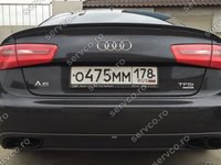 Eleron portbagaj Audi A6 C7 4G Sedan Limuzina 2011 2012 2013 2014 ABT AB Look ver4