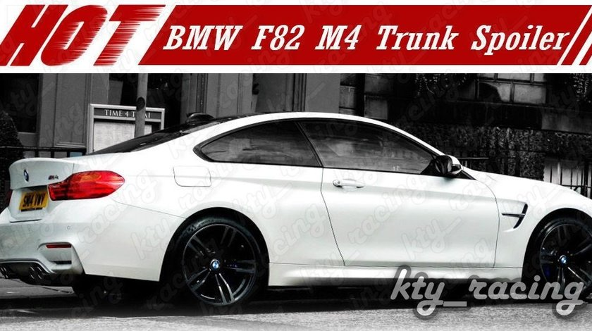 ELERON PORTBAGAJ BMW F82 M4 STYLE CARBON F32 COUPE