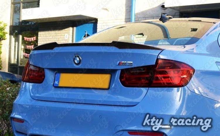 Eleron Portbagaj Bmw Seria 3 F30 F80 M3 ABS sau fibra carbon V Style