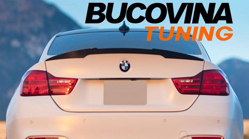 Eleron portbagaj BMW Seria 4 F36 Gran Coupe (Dupa 2014) M4 CSL Design Negru Lucios