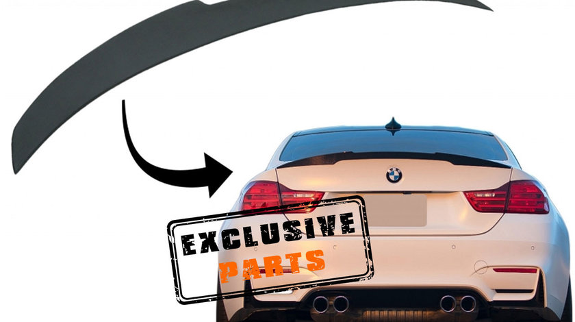 Eleron portbagaj BMW Seria 4 F36 Gran Coupe (Dupa 2014) M4 CSL Design