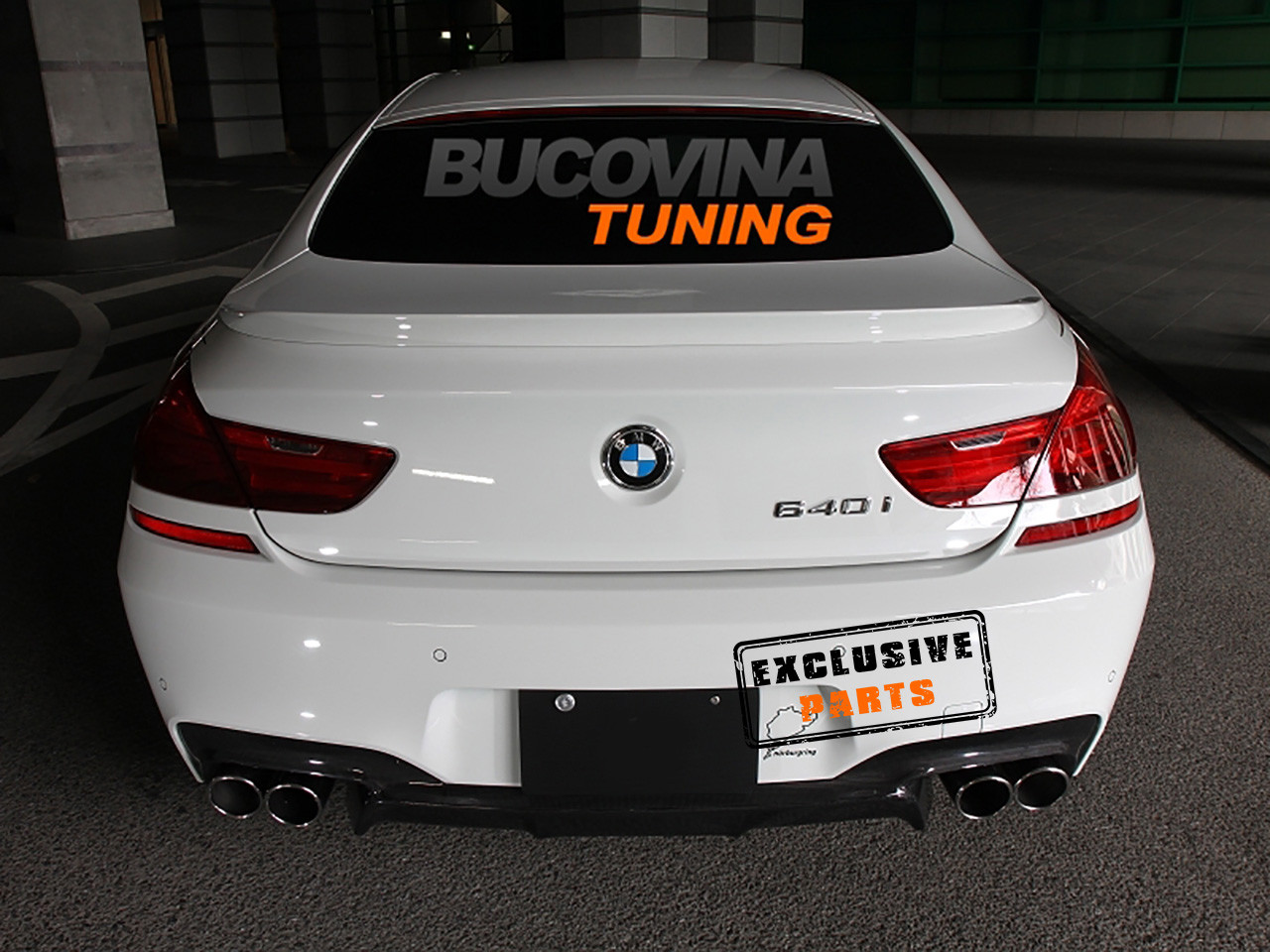 Eleron portbagaj BMW Seria 6 F13 Coupe (Dupa-2012) M Design