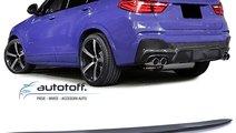 Eleron portbagaj BMW X4 F26 (14-17) Negru lucios