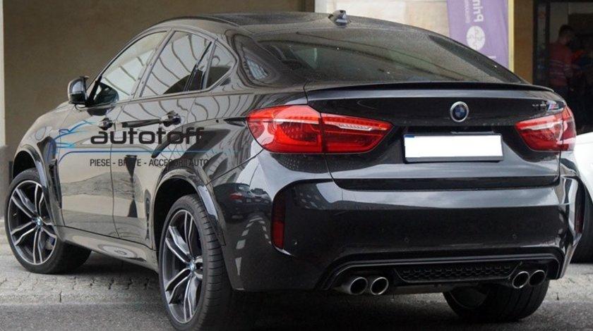 Eleron portbagaj BMW X6 F16 (2014+) Black Look