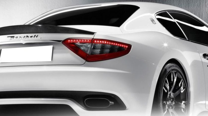Eleron portbagaj Carbon Fiber Maserati GranTurismo GT 2D Coupe 2008-2014