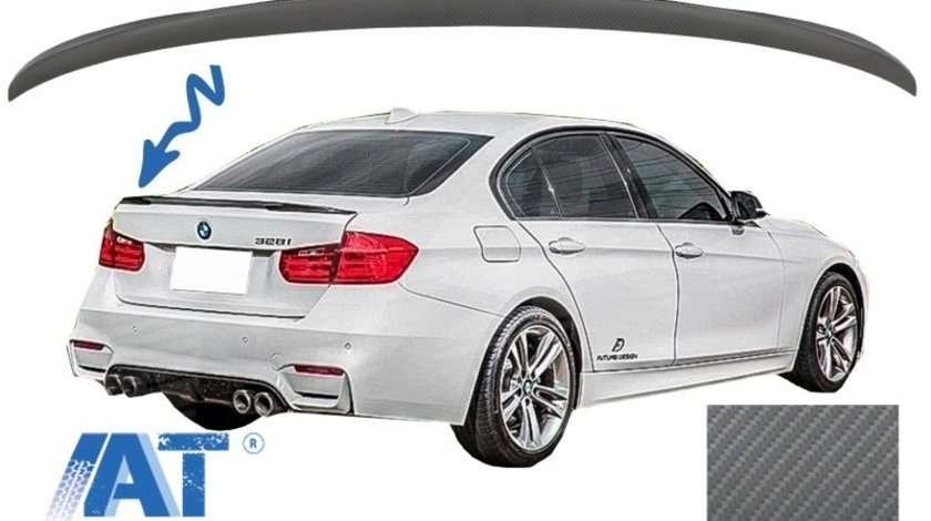 Eleron Portbagaj compatibil cu BMW Seria 3 F30 (2011-up) M3 Design Carbon Film