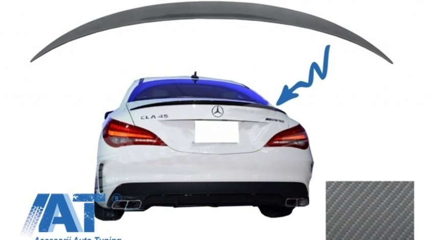 Eleron Portbagaj compatibil cu MERCEDES CLA C117 W117 (2013-up) A-Design Carbon Film