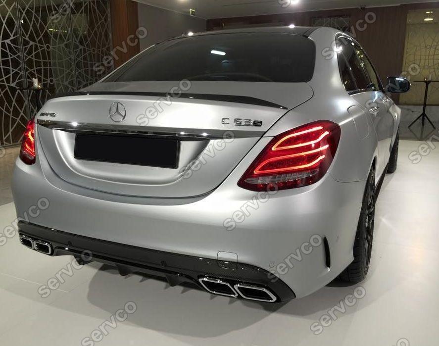 Eleron portbagaj Mercedes-Benz C-Class Clasa C W205 C63 S AMG ver1