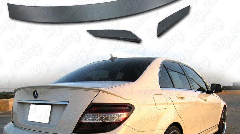 Eleron Portbagaj Mercedes W204 Model din 3 bucati C Klasse Plastic Abs 349 Ron Kit Montare Inclus
