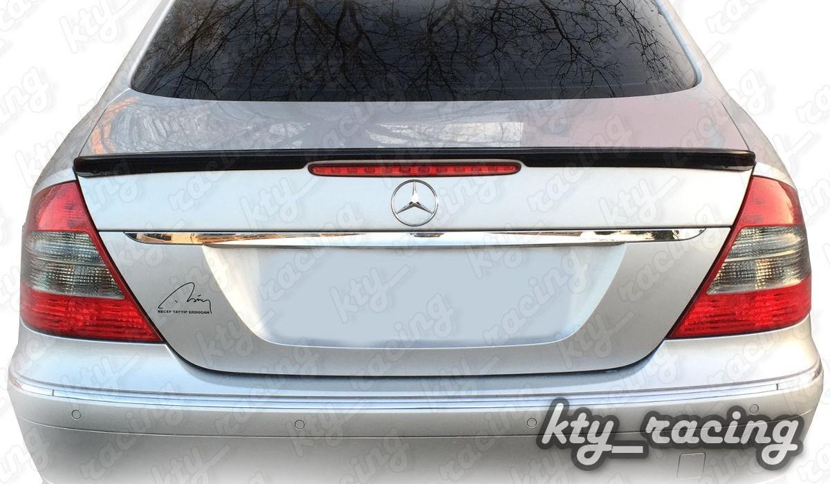 Eleron Portbagaj Mercedes W211 model AMG E Class Klasse Plastic Abs