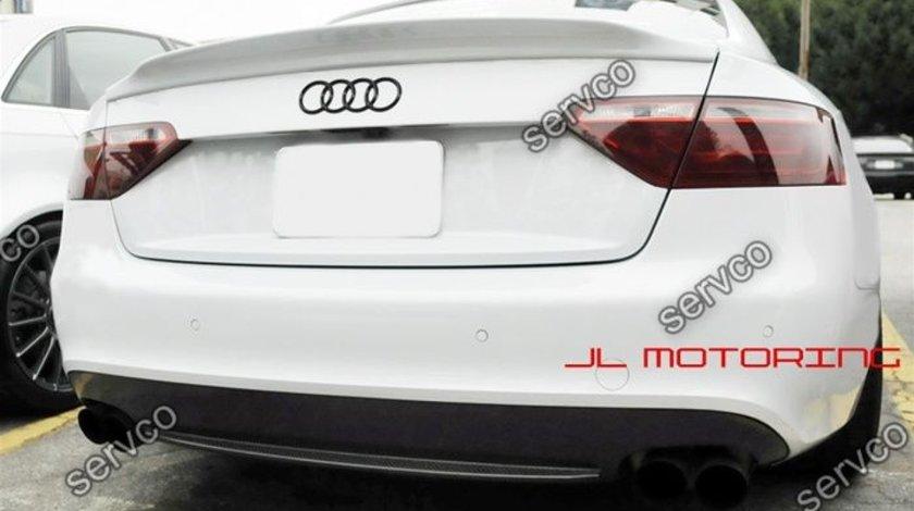 Eleron portbagaj Sline tuning sport Audi A5 Coupe 8T 8T3 S5 Caractere 2007-2012 v2