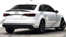 Eleron portbagaj spoiler Audi A4 B9 Sline S-line S...