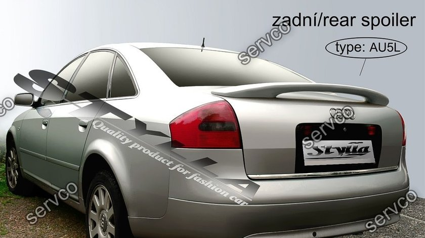 Eleron portbagaj tuning sport Audi A6 C5 Sedan RS6 S6 Sline 1997-2004 v4