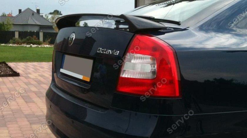 Eleron portbagaj tuning sport Octavia 2 RS Vrs Sedan HB