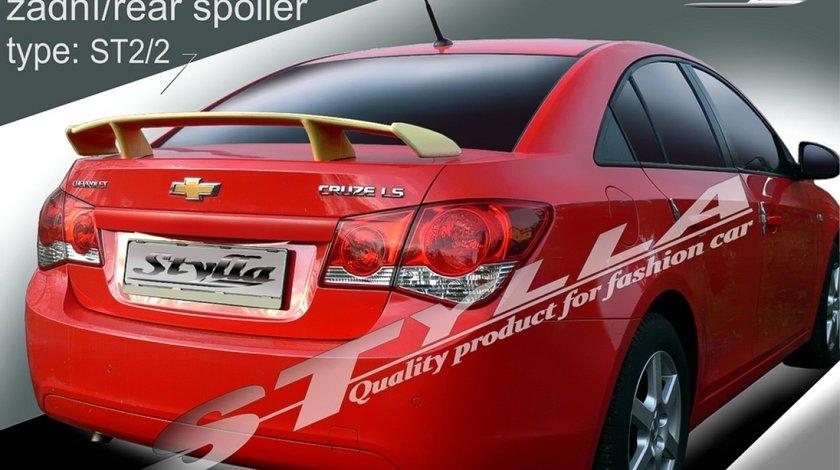 Eleron prelungire adaos portbagaj spoiler tuning sport Chevrolet Cruze Sedan 2008-2016 v1