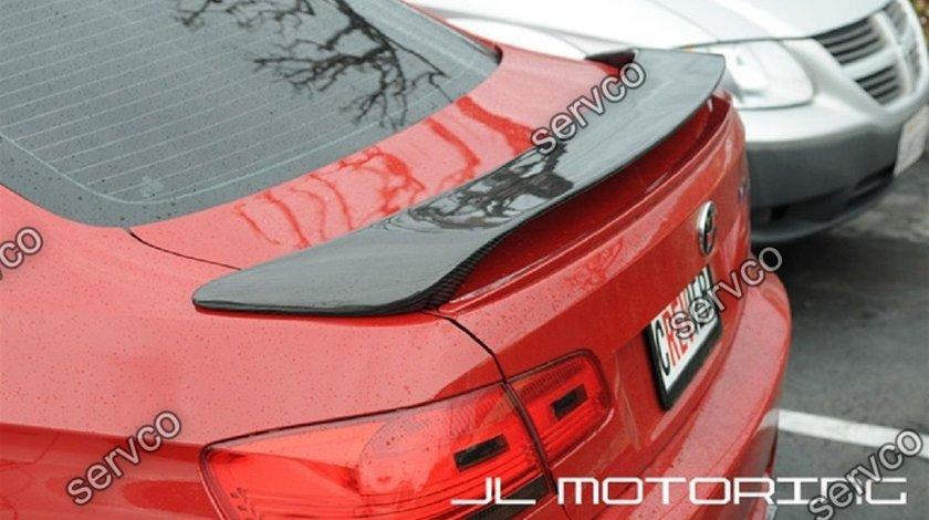 Eleron prelungire capota portbagaj tuning sport BMW E92 H style Hamann 2006-2012 v3