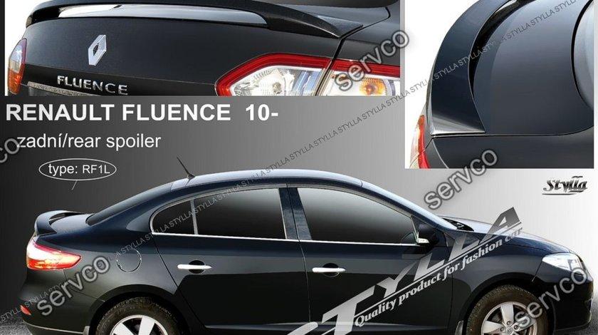Eleron prelungire portbagaj spoiler tuning sport Renault Fluence MK1 2009-2016 v1