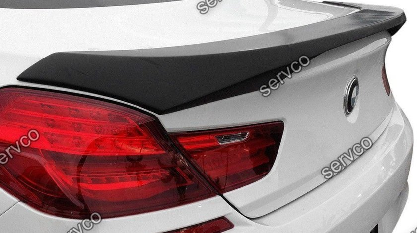 Eleron prelungire portbagaj tuning sport BMW F06 F13 grand Coupe Seria 6 Hamann 2011-2018 v1
