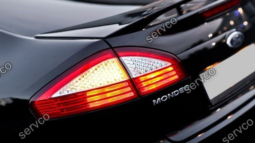 Eleron prelungire portbagaj tuning sport Ford Mondeo Mk4 ST Zetec Titanium Ghia 2007-2014 v1