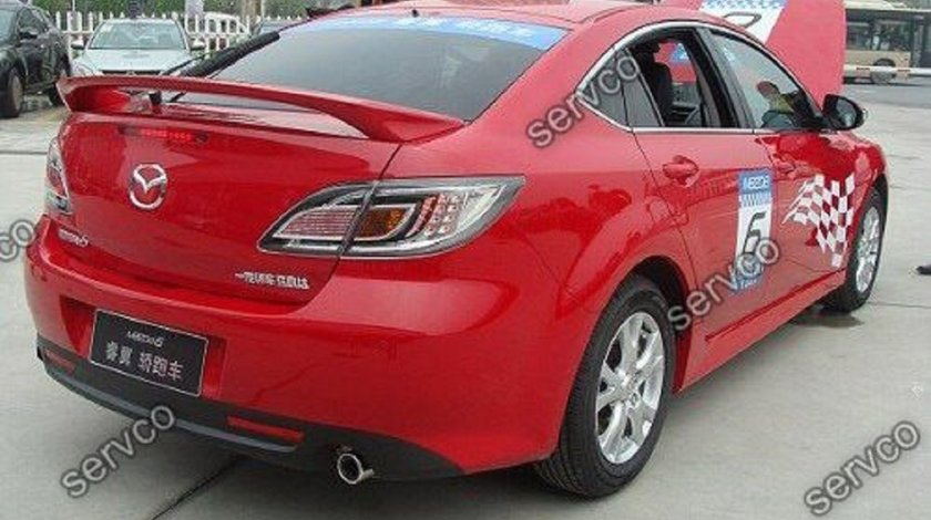 Eleron prelungire portbagaj tuning sport Mazda 6 MPS Mazdaspeed Jdm Mk2 2007-2012 v1